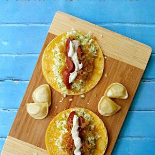 Polish Sausage Tacos.