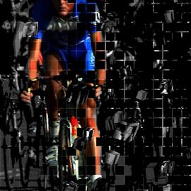 Bicycle fading by Marissa Enslin - Digital Art Things