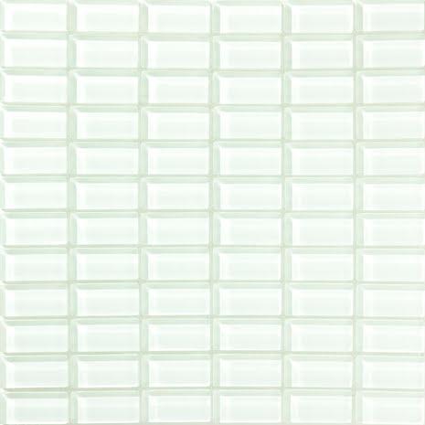 T160 gloss 23x48mm, Box 0,9m2 Glas blank tjocklek 8mm