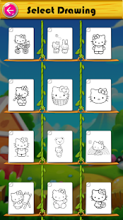 Kitty Coloring Book & Drawing Game - náhled