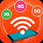 Wifi speed test -Speedcheck 5g, 4g, 3g