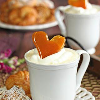 Creme Brulee White Hot Chocolate.