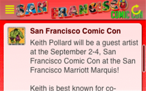 San Francisco Comic Con screenshot 2