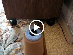 Video: Сход нити с конуса