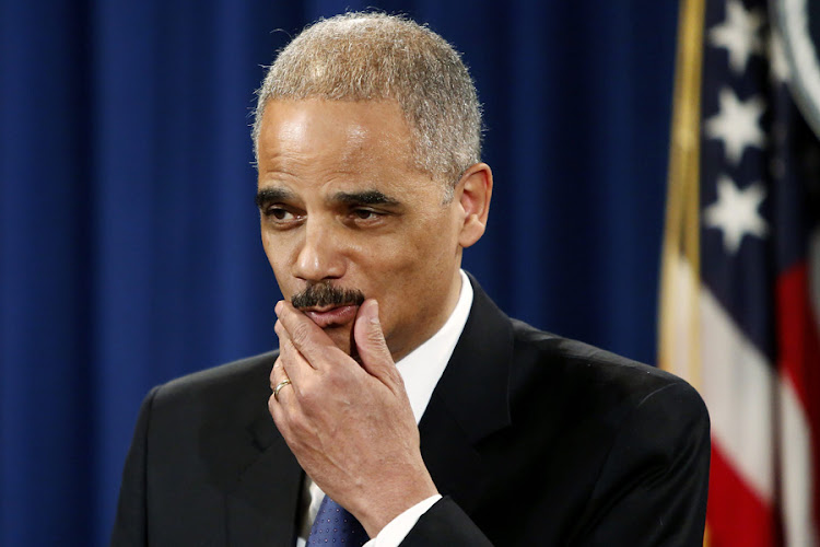 Eric Holder. Picture: REUTERS