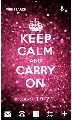 KEEP CALM AND CARRY ON [+]HOME