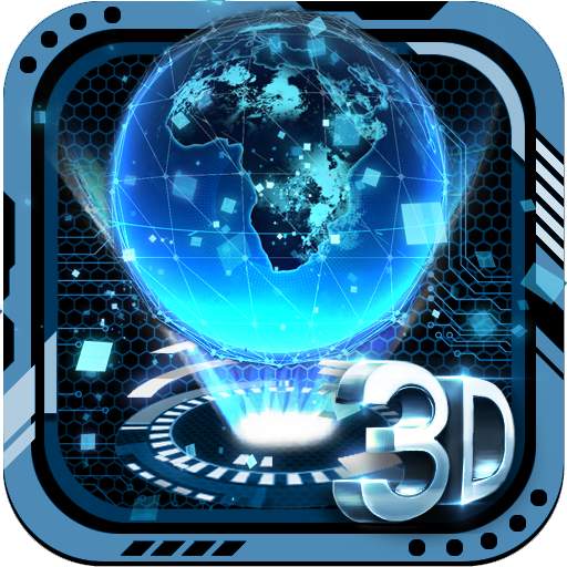 3D Tech Earth Theme