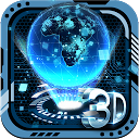 3D Tech Earth Theme 2.0.6 APK Download