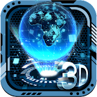 3D Tech Earth Theme icon