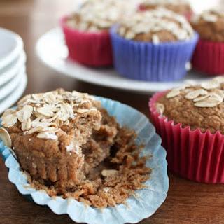 No Sugar Apple Cinnamon Blender Muffins Recipe