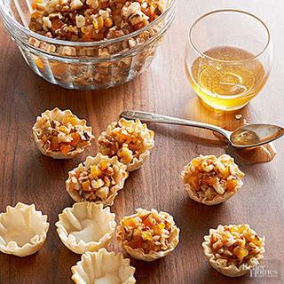 Walnut-Apricot Baklava Bites
