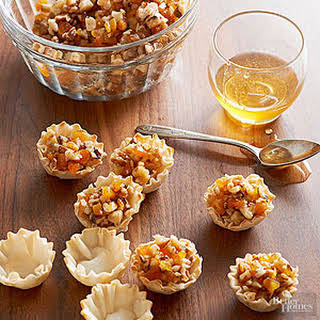Walnut-Apricot Baklava Bites.