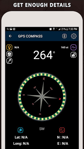 Gyro Compass App for Android Pro & GPS Speedometer screenshot 5