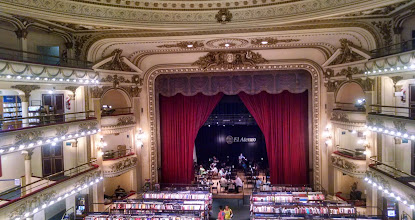 Photo: El Ateno book store in an old theater