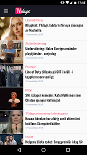TVdags TV-tablå & TV-guide- screenshot thumbnail