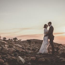 Mountain by Lood Goosen (LWG Photo) - Wedding Bride & Groom ( bride, wedding dress, groom, wedding photographer, wedding photography, bride and groom, bride groom, weddings, wedding day, wedding photographers, wedding )