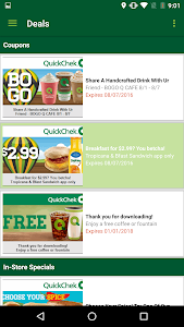 QuickChek Deals screenshot 2