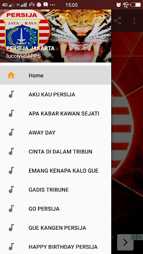 Lagu Persija Jakarta 2018 8.1 screenshots 1