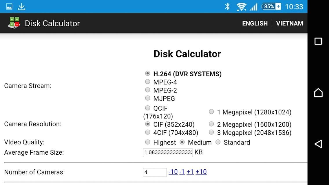 Disk Calculator Android Apps On Google Play