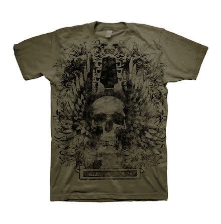 T-Shirt - Skull Wings