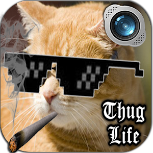 Thug life photo maker editor android apps on google play thug life photo maker editor voltagebd Images