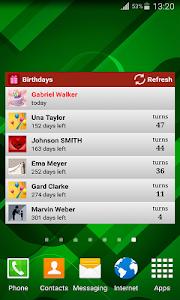 Birthdays screenshot 4