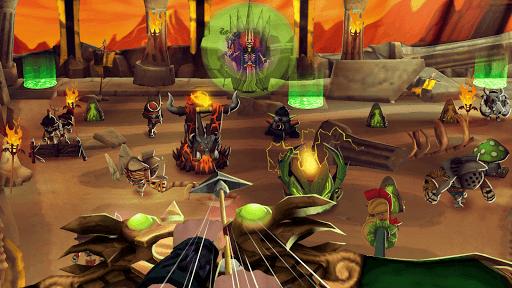 Skull Towers: Offline Games Difesa Della Torre  άμαξα προς μίσθωση screenshots 2