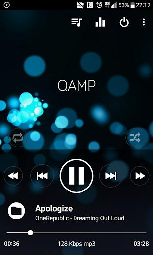 Mp3 player - Qamp screenshot 6