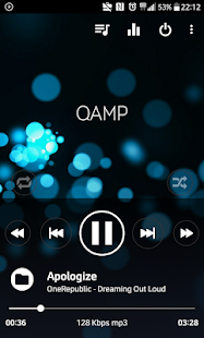 Pro Mp3 player - Qamp Screenshot