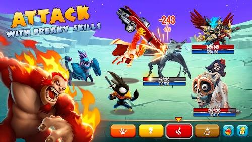 Screenshot 2 Monster Legends - RPG 7.4.4 APK MOD