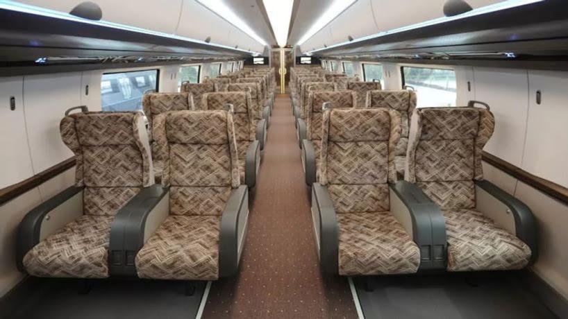 China presenta el tren bala flotante de maglev con velocidades de 600 km por hora