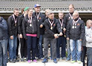 Photo: Vinder af Elitedivisionen og DIF medaljen 2013 - Boule Hedebo
