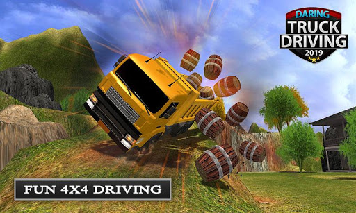 Offroad Transport Truck Driving - Jeep Driver 2019  screenshots 1