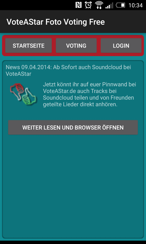 VoteAStar Foto Voting Free- screenshot