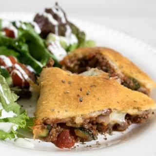 Italian Crescent Pie.