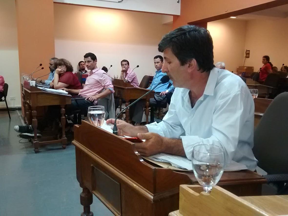 Polverini defendió lo que ya había salido en la ordenanza preparatoria. Todos los Mayores Contribuyentes votaron por Cambiemos.