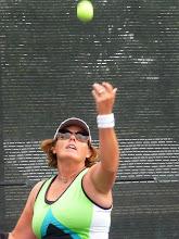 Photo: Tennis social event Leslie Keery