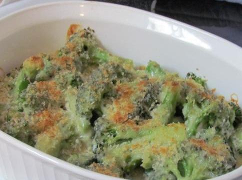 Broccoli Au Gratin Recipe