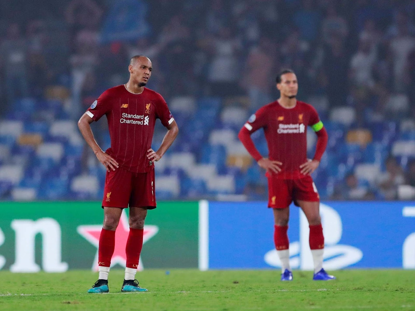 Image result for liverpool defeat napoli