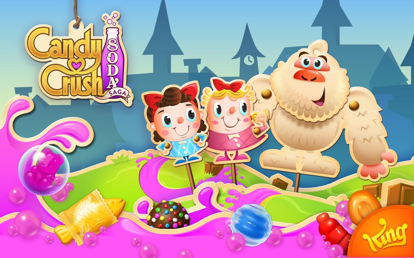Image result for Candy Crush Soda Saga