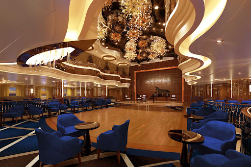 Lincoln Center Stage offers chamber music and more on Holland America's Rotterdam.