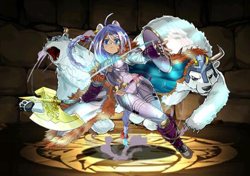 氷斧の武闘姫・ユウリ
