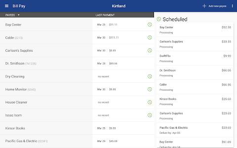 Kirtland FCU Mobile Banking screenshot 12