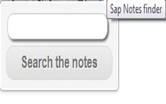 Sap Notes finder