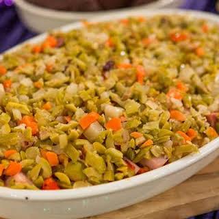 Seafood Muffuletta Dip.