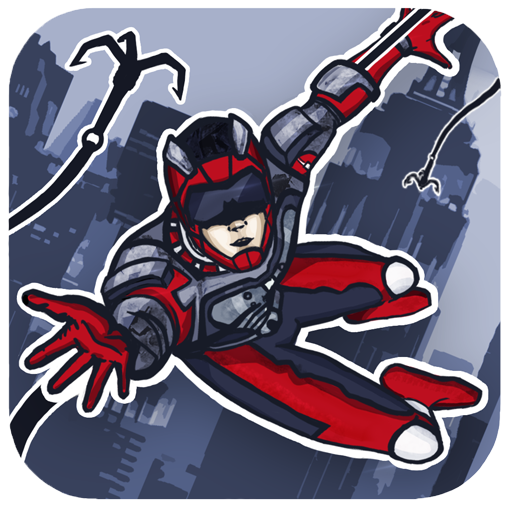 Rope Hero: Crime Busters