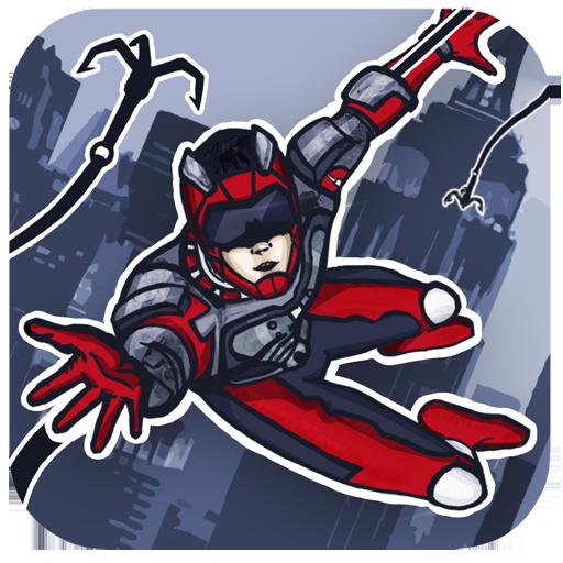 Rope Hero: Crime Busters ойындар (apk) Android/PC/Windows үшін тегін жүктеу