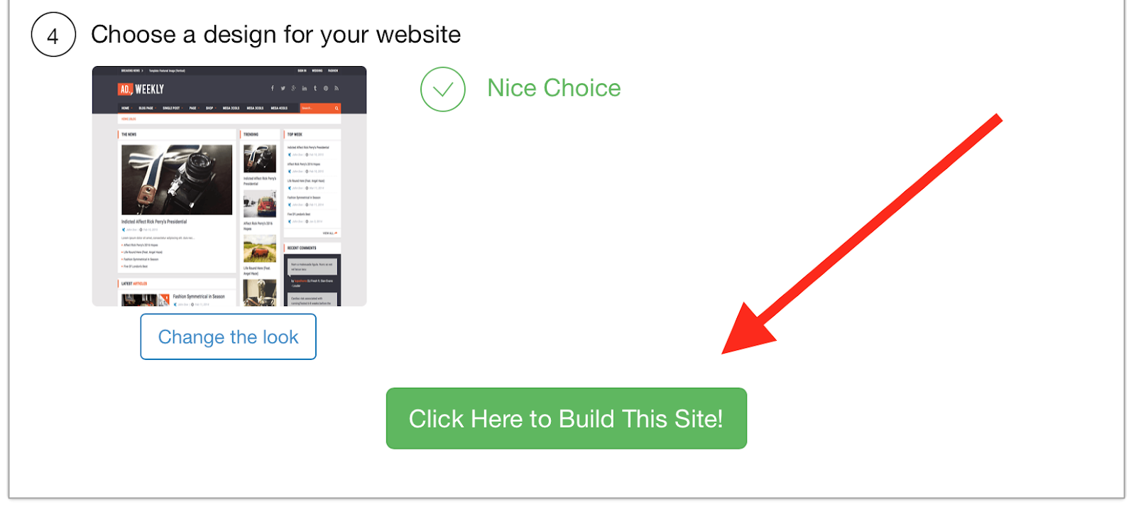 SiteRubix best free website builder
