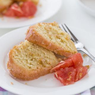 Grapefruit Vanilla Bean Pound Cake