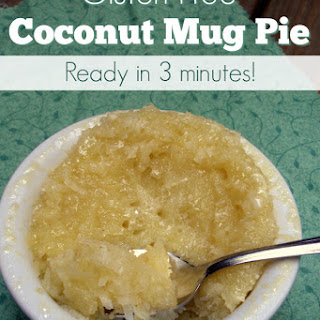 Coconut Pie in a Mug